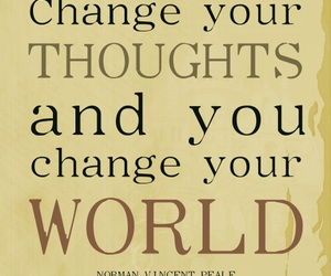 quote, world, and change image