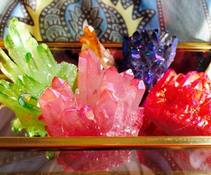 colorful and crystal image