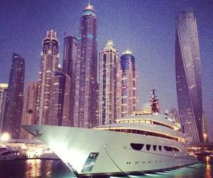 luxury, city, and yacht image