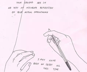 quote, school, and drawing image