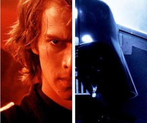 darth vader, star wars, and Anakin Skywalker image