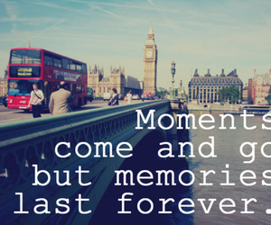 london, memories, and quote image