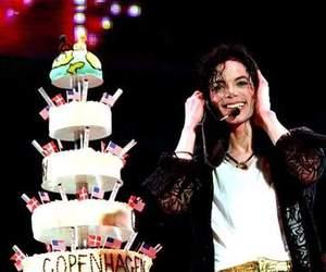 michael jackson and happy birthday image