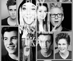 ️youtubers, pretty, and tyler oakley image