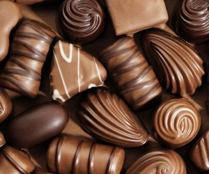 candies, choco, and candy image