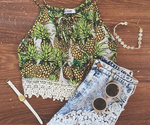 outfit and pineapple image