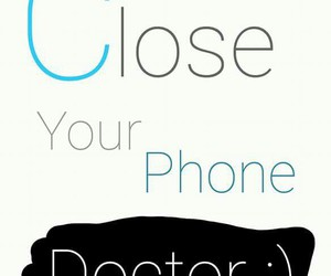doctor, medicine, and phone image