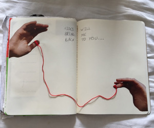 art, tumblr, and book image