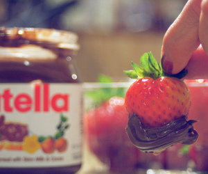 chocolate, nutella, and photography image
