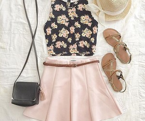 skirt, outfit, and clothes image