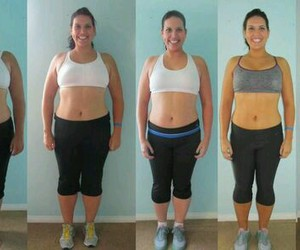 fitness, before and after, and motivation image