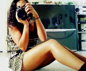 beauty, camera, and inspire image