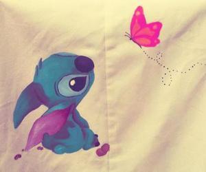 cute, stitch, and love image