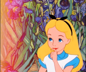 wallpaper, alice in wonderland, and alice image