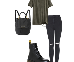 black, cool, and outfit image
