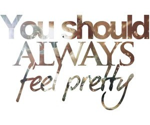 pretty, quote, and always image