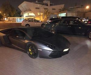 black, car, and night image