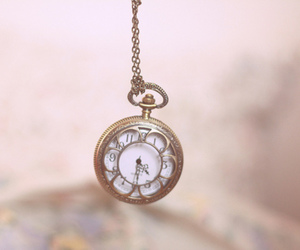 clock, vintage, and time image