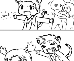 comic, dean winchester, and fanart image