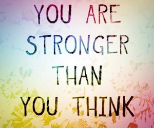 strong, think, and quote image