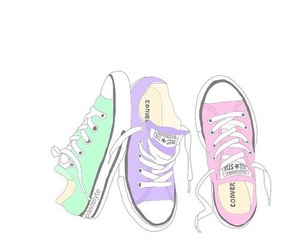 converse, overlay, and shoes image