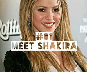 shakira, life goal, and meet shakira image
