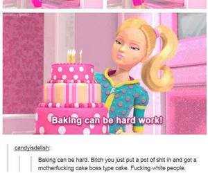 funny, barbie, and lol image