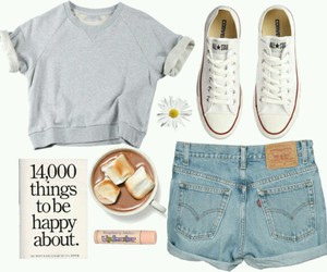 converse, demin, and Polyvore image