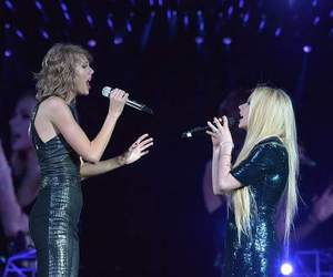 Taylor Swift and Avril Lavigne image