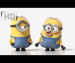 animation, funny, and minions image