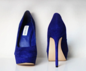 fashion, shoes, and blue image