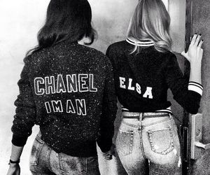 chanel, jackets, and models image
