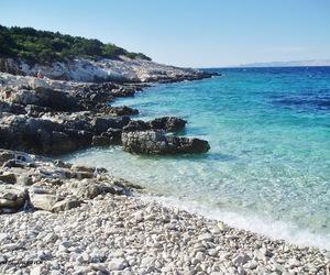 beach, Croatia, and road image