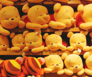 adorable, pooh, and stuffed animals image
