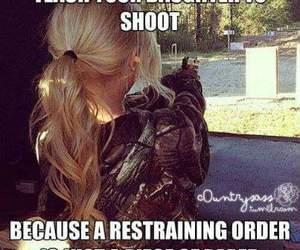 gun, shoot, and advice image