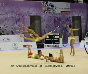 spain, world cup, and rhythmic gymnastics image