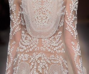 fashion, haute couture, and details image
