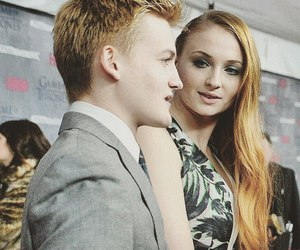 sophie turner and jack gleeson image