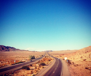 on the road, road, and route 66 image