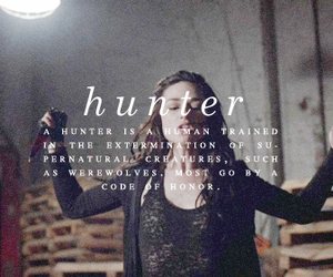teen wolf, hunter, and crystal reed image