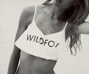 bikini and wild fox image
