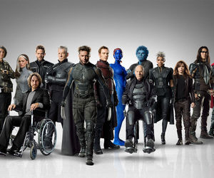 x-men, magneto, and beast image