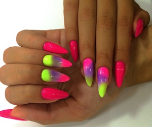 colo, cool, and nails image