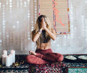 hippie, bohemian, and gypsy image