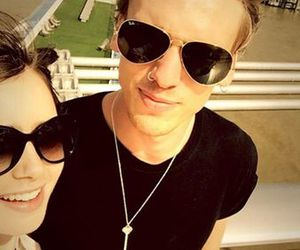 Jamie Campbell Bower, jamily, and lily cillins image