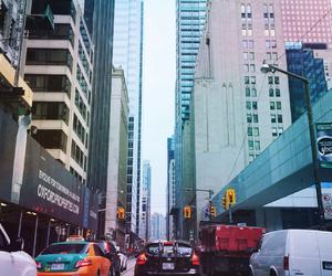 big, cars, and city image