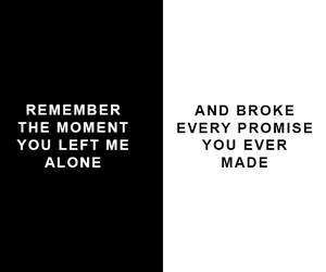 alone, bmth, and bring me the horizon image