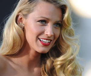 blake lively, blonde, and smile image