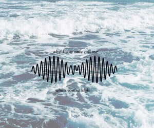 arctic monkeys, sea, and wallpaper image
