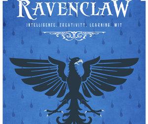 ravenclaw, harry potter, and hogwarts image